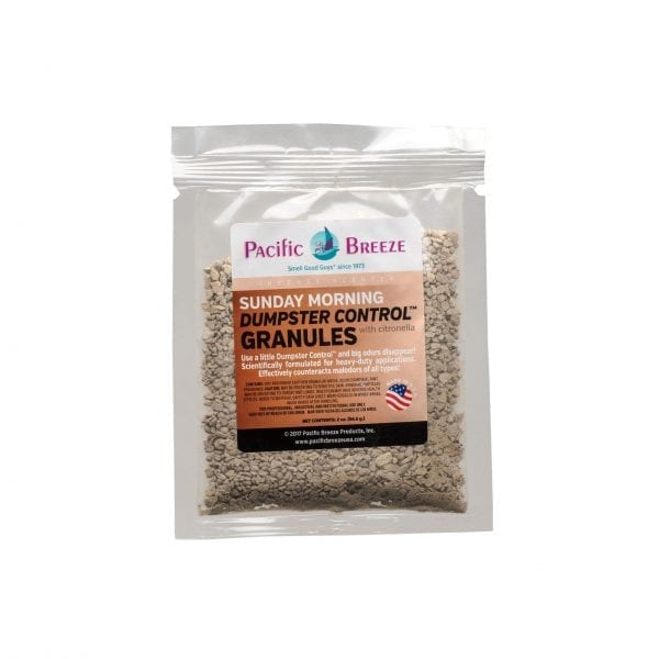 Pacific Breeze Dumpster Control™ Granules Packets